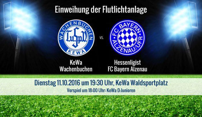KeWa Wachenbuchen empfängt FC Bayern Alzenau