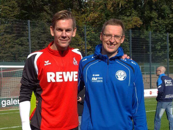 Unser Torwarttrainer Dirk Metz besucht Workshop in Köln